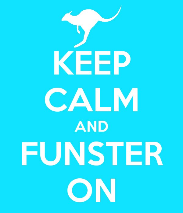 Keep Calm & Funster On
